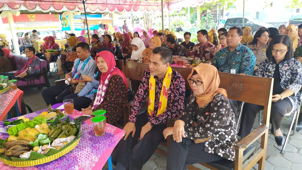 Tim Evaluasi LBS-PHBS Tingkat DIY Telah Menilai Kelurahan Wirogunan