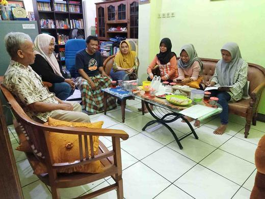 SPS PAUD Mekarsari 24  Kelurahan Wirogunan Mengevaluasi Diri untuk Kemajuan Bersama