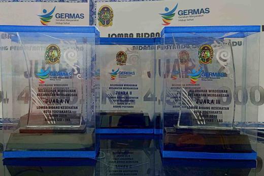 Menuai Prestasi dalam Lomba Bidang Kesehatan 2019 tingkat Kota Yogyakarta
