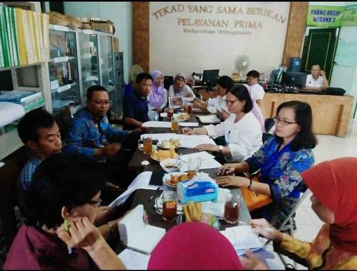 Kelurahan Wirogunan Terus Berikhtiar Mengurangi Angka Kemiskinan dengan Pelatihan