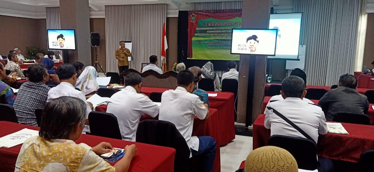 Tim Pemberdayaan Kel. Wirogunan Turut Berkontribusi dalam Musrenbang Kec. Mergangsan