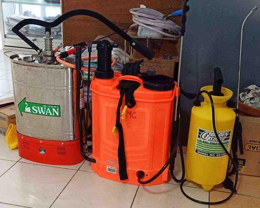 #GASA Wirogunan bersama Kelurahan Sediakan Alat Semprot Disinfektan untuk Dipinjam Warga