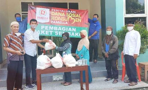 DMI Wirogunan Plus, Menunaikan Amanah Pamela Group dalam Distribusi Paket Sembako