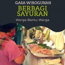 """Berawal dari Guyonan Spontan, GASA Wirogunan, Berbagi Sayuran """"Warga Bantu Warga"""""""