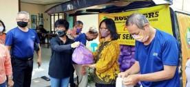 Kospin GRS, Bagikan 205 Paket Sembako dalam aksi Berbagi Kasih di Kampung Bintaran