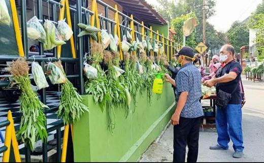 Aksi MasBayu #6 Kelurahan Wirogunan di Kampung Nyutran