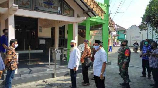 Gugus Tugas Covid-19 Mergangsan, Lakukan Verifikasi di Masjid Al-Hufadh Kampung Mergangsan Kidul