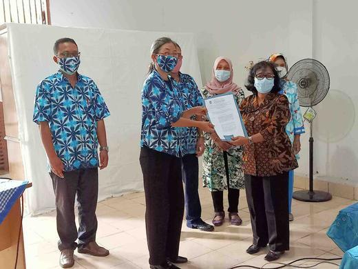 Lurah Wirogunan Kukuhkan Pengurus Kampung Keluarga Berkualitas Bintaran