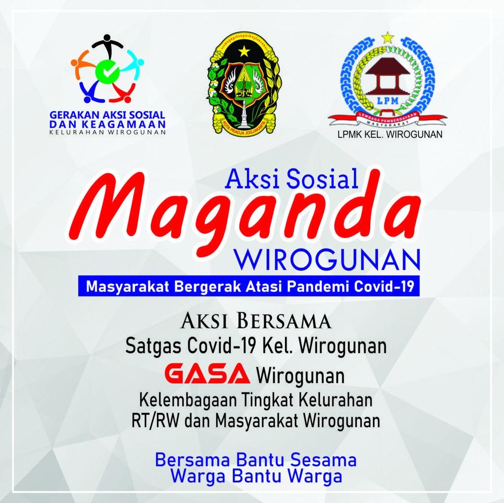 GASA bersama Satgas Covid-19 Wirogunan, Maksimalkan aksi MAGANDA