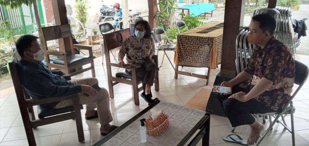 Satgas-Covid-19 Wirogunan : Berfikir Positif Agar Cepat Negatif