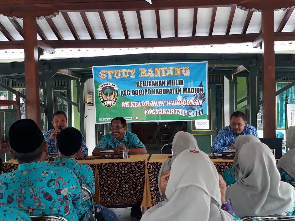 Kunjungan Study Banding dari Kel. Mlilir, Kec. Dolopo, Kab. Madiun